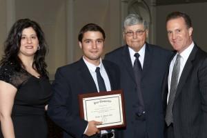 Josephine Trovini, Scholarship Winner, Judge Francis Nicolai, John Pappalardo Jr