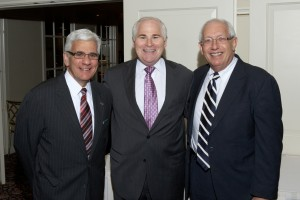 Judge Daniel Angiolillo, Judge Alan Scheinkman, Joseph Abinanti