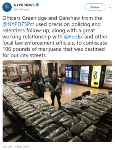 @NYPDNews tweet